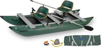 Sea Eagle 375 Foldcat Inflatable Pontoon Boat