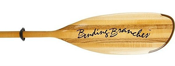 Bending Branches Impression Wooden Kayak Paddle Blade
