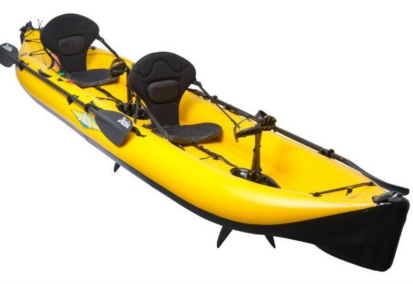 the best inflatable fishing kayaks of 2017 rated and reviewed