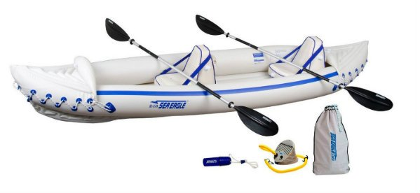 Sea Eagle 370 review inflatable kayak