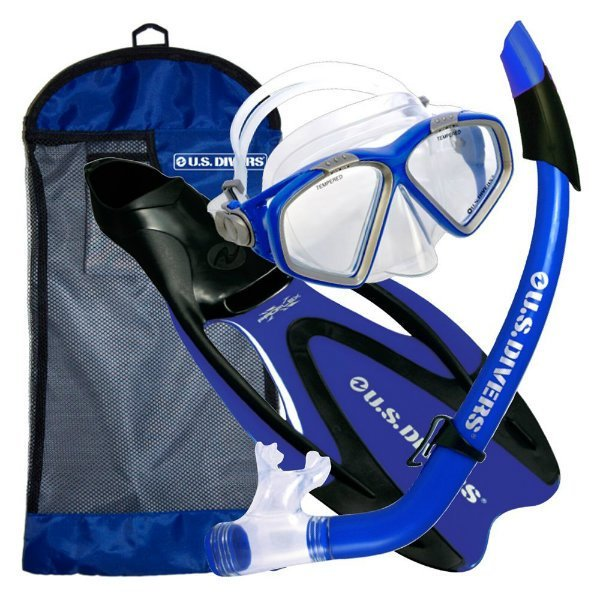 US Divers Cozumel ProFlex Snorkel Set