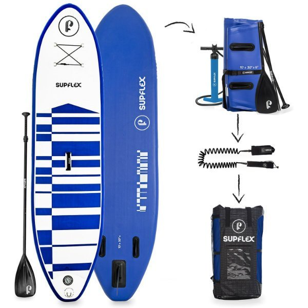 Supflex 10' Inflatable Stand-Up SUP