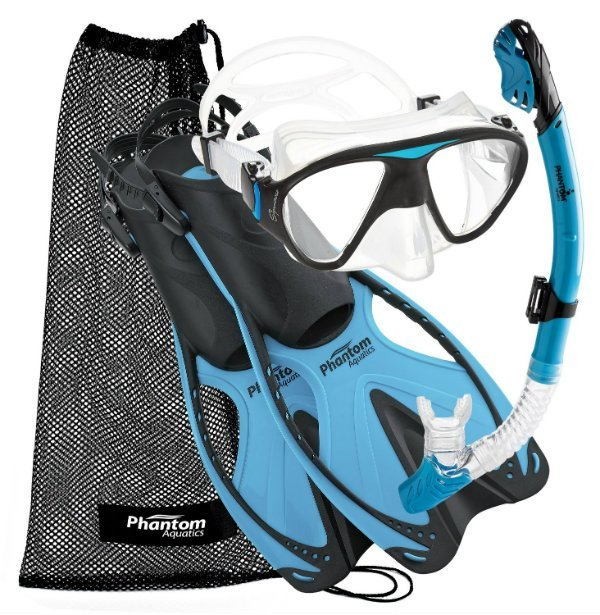 Phantom Aquatics Speed Sport Snorkel Set