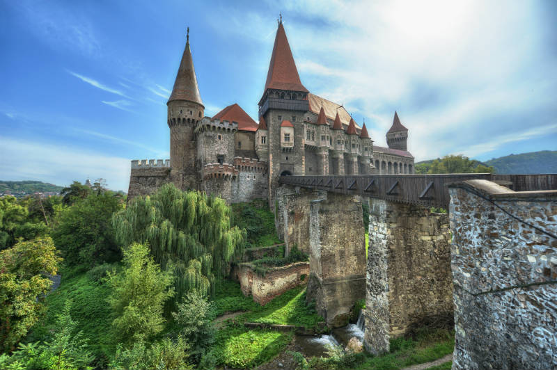 10. Corvin Castle, Hunedoara