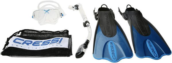 Cressi Palau Snorkeling Equipment Set