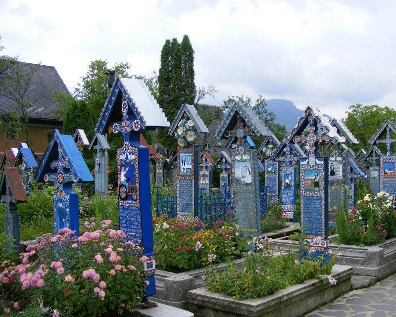 4. Sapanta Merry Cemetery, Maramures