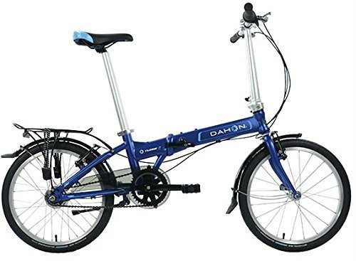 "Click to open expanded view Dahon Vitesse i7 20"" Folding Bike, Navy"