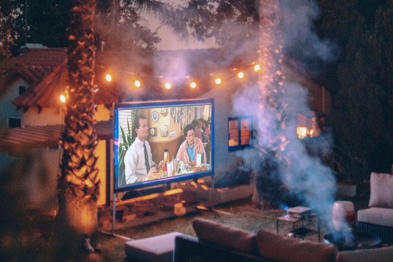 Best Outdoor Projector Screens