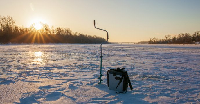 How to Make a Hole for Ice Fishing