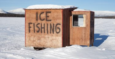 How to Build an Ice Fishing Shack