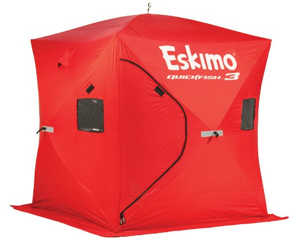 Eskimo Quickfish 3 is designed to accommodate three people