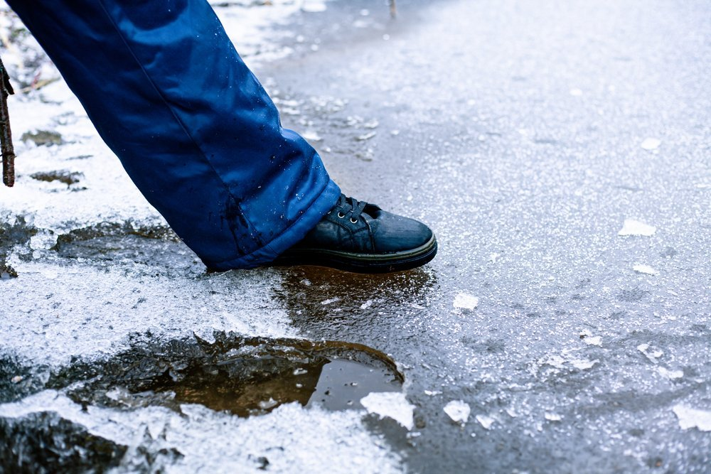 Is Ice Safe to Walk on